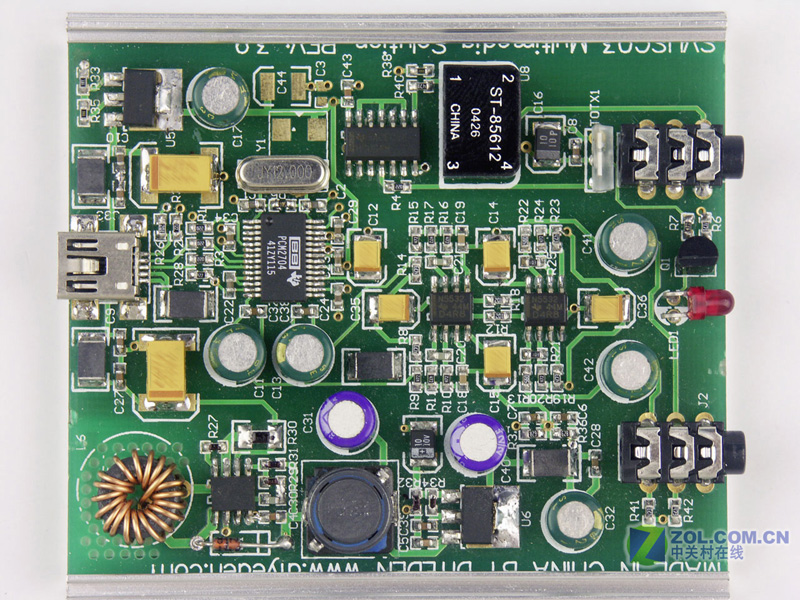 声卡芯片887电路图